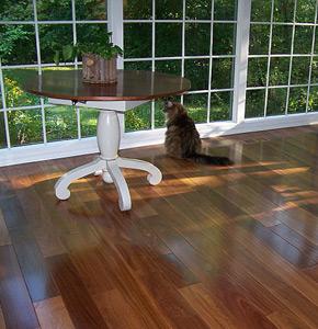 Prefinished Solid 3 4 Quot Brazilian Teak Cumaru Flooring By