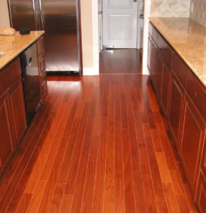 Santos Mahogany Floors