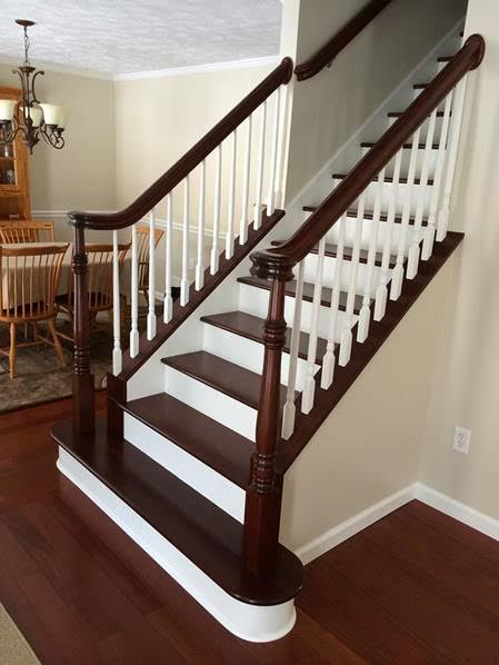 Brazilian Cherry staircase