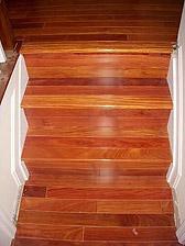 Santos Mahogany Flooring And Stair Nosing