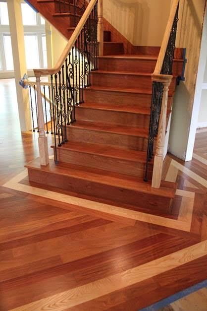 Stairs Treads And Risers Hardwood Floor Accessories Brazilian Direct Cherry