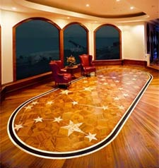 2004 Brazilian Cherry Flooring - NWFA Floor of the Year