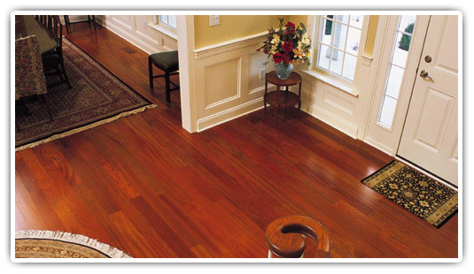 Brazilian Cherry Flooring Ultra Long Lengths Unfinished
