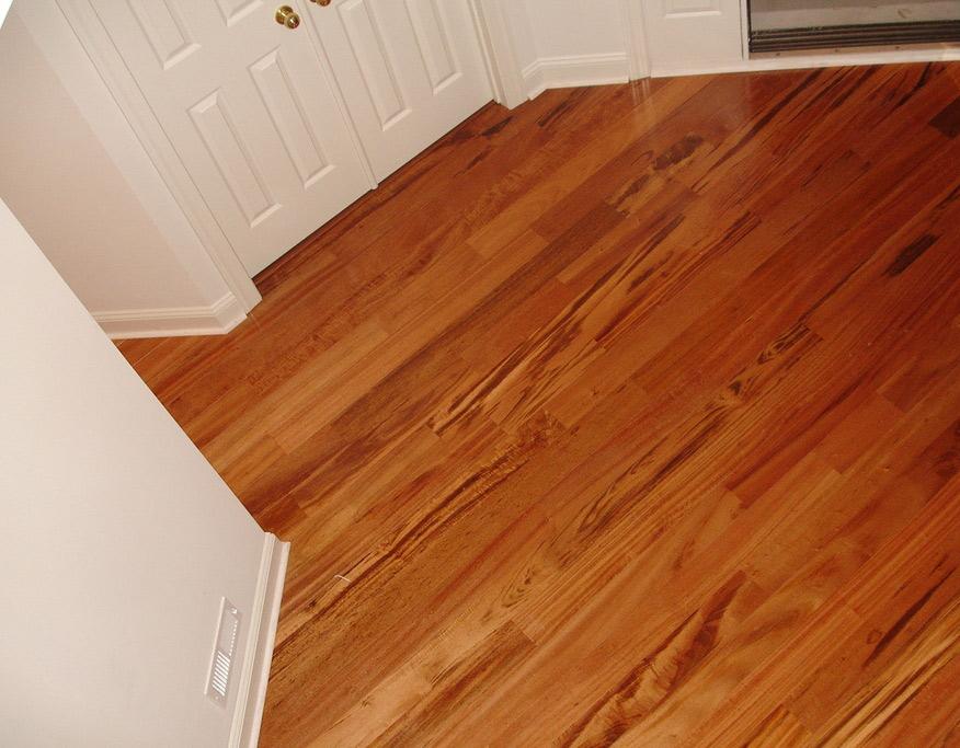 Solid 34 Brazilian Koa Tigerwood Goncalo Alves Flooring By