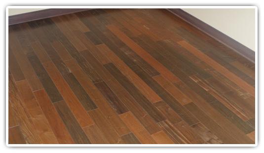 Brazilian Walnut Hardwood Flooring prefinished 5 ipe residential installation Prefinished 5 Ipe Residential Installation