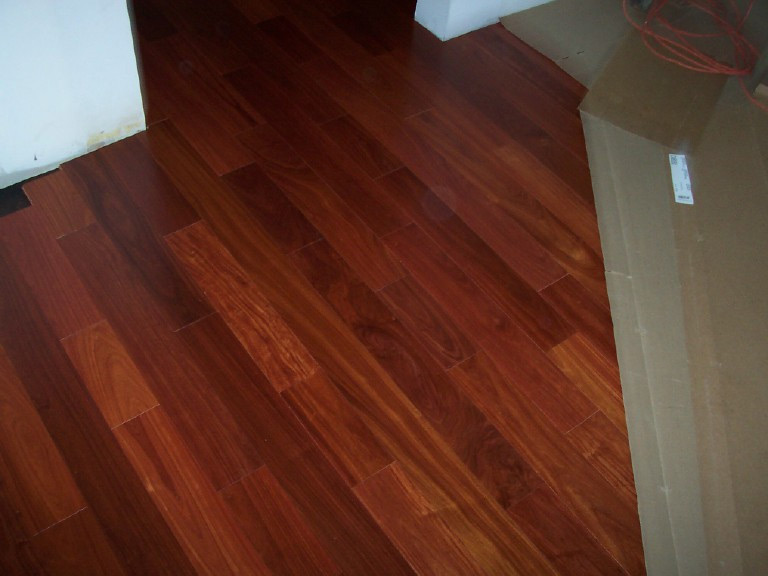 Brazilian cherry brazilian cherry santos mahogany for Mahogany flooring